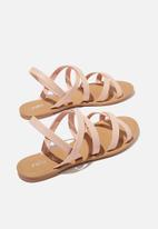 Cotton On - Lucy strappy slingback sandal - sugar pink
