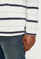 Hurley - Df Harvey stripe long sleeve - multi