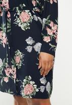 JUNAROSE - Saga shirt dress - multi