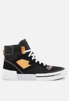 Diesel  - S-dese ms sneakers - black/flame orange