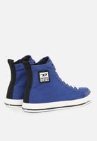 Diesel  - S-astico mid cut sneakers - sodalite blue