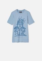 Free by Cotton On - Co-lab free tee - blue