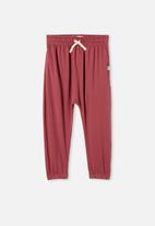 Cotton On - Lennie pant - vintage berry