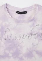 Sissy Boy - Tie dye T-shirt - lilac