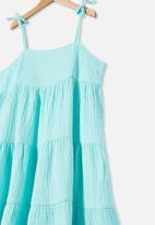 Free by Cotton On - Nicole sleeveless dress - blue dream