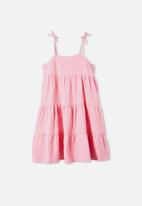 Free by Cotton On - Nicole sleeveless dress - cali pink