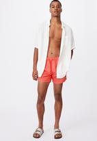 Cotton On - Swim short - solid raspberry