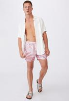 Cotton On - Swim short - washed red
