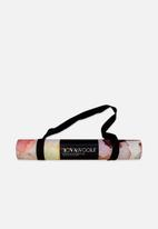 NOVAWOOLF - Luxe Collection Yoga Mat- Solarmagic Edition
