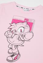 PUMA - Puma x sega tee - pink