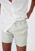 Cotton On - Swim short - olive & white
