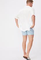 Cotton On - Swim short - blue & white