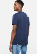The North Face - M short sleeve simple dome tee - navy