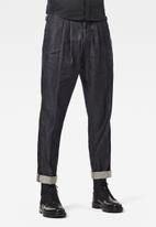 G-Star RAW - Varve relaxed pleated chino - mid blue