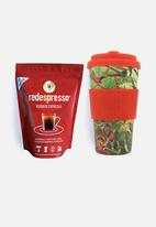 Ecoffee Cup - Red song - redespresso & ecoffee cup