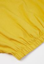 Superbalist - Girls crop blouse - yellow