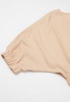 Superbalist - Girls crop blouse - pink