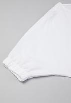 Superbalist - Girls crop blouse - white