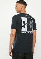 Under Armour - UA box logo short sleeve tee - black