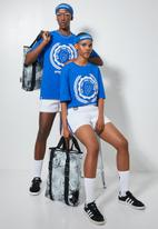 Thebe Magugu extra curricular  x CLD - Thebe Magugu extra curricular  x CLD PVC bag - black & white