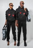Thebe Magugu extra curricular  x CLD - Thebe Magugu extra curricular x CLD sweat hoodie - black
