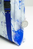 Thebe Magugu extra curricular  x CLD - Thebe Magugu extra curricular  x CLD PVC bag - cobalt