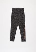 PUMA - Alpha leggings g - black & grey
