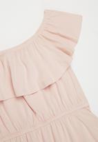 Rebel Republic - Frill detail dress - pink