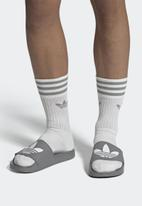 adidas Originals - Adilette lite - grey & white