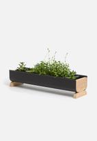 Emerging Creatives - Stockholm planter - black