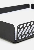 Emerging Creatives - Paper tray - black