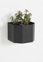 Emerging Creatives - Wall mounted herb box - black