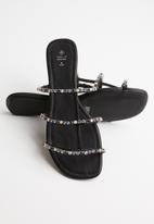 Call It Spring - Golle sandal - black syn