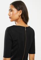 POLO - Braxton ms business dress - black