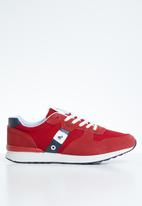 POLO - Charles retro sneaker - red