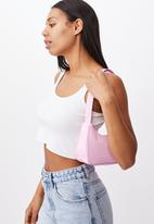 Rubi - Nylon underarm bag - wild lilac