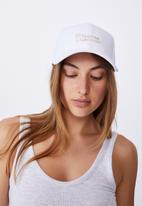 Rubi - Hailey structured cap - white