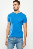 SOVIET - Bolt s20 short sleeve muscle fit T-shirt - mosaic blue