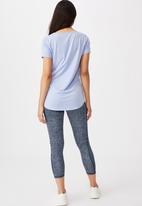 Cotton On - Maternity gym T-shirt - cornflower lilac