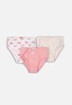 MINOTI - Girls 3 pack underwear set - multi