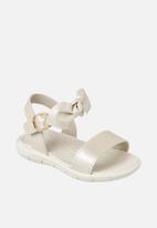 Klin - Casual bow sandal - ivory
