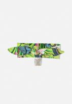 UP Baby - Baby floral headband - green