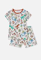 Cotton On - Hudson short sleeve pyjama set - multi