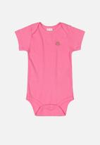 UP Baby - Cotton bodysuit - pink