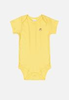 UP Baby - Cotton bodysuit - yellow