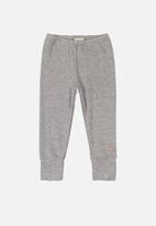UP Baby - Soft jersey cotton pants - grey