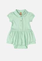 UP Baby - Baby girls bodysuit - green