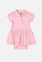 UP Baby - Baby girls bodysuit - pink