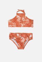 Gloss - Sun protection bikini set - orange