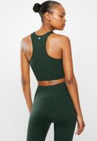 Fitgymwear - Kickstart crop - olive